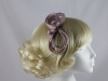  Lilac Loops Fascinator